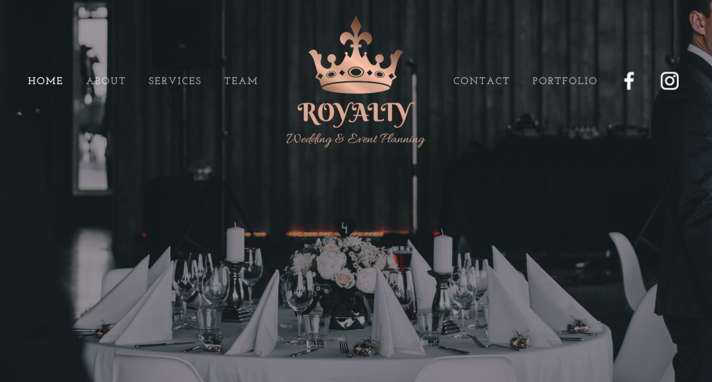 Royalty Events Planning