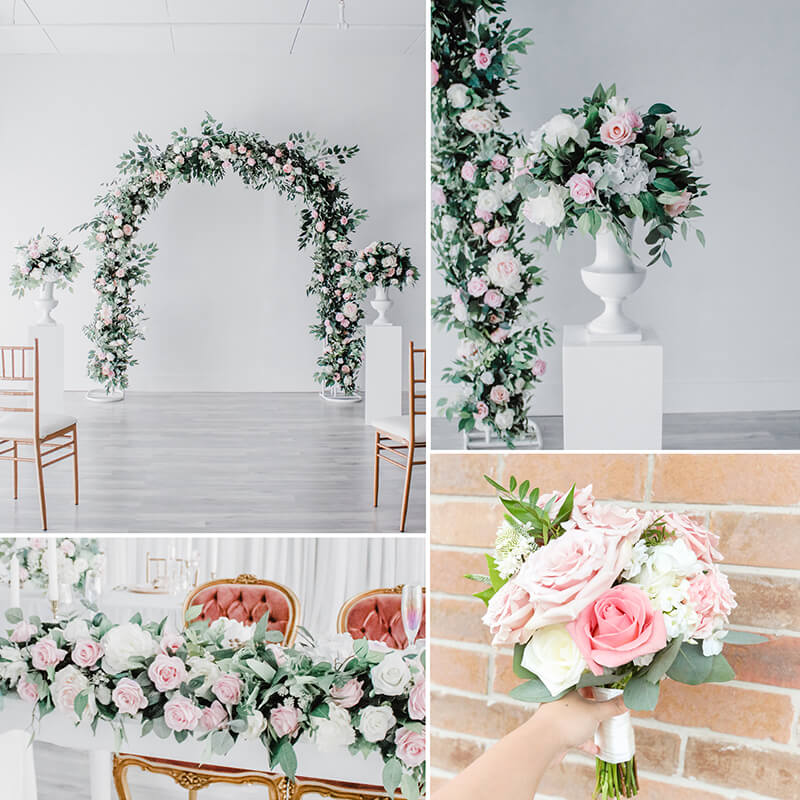Micro Wedding Blush Chic Decor
