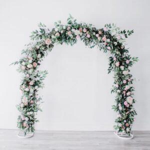 Blush Floral Arch U
