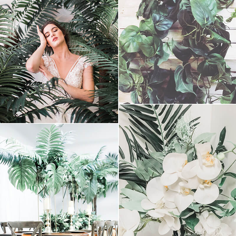 Tropical Micro Wedding Summer