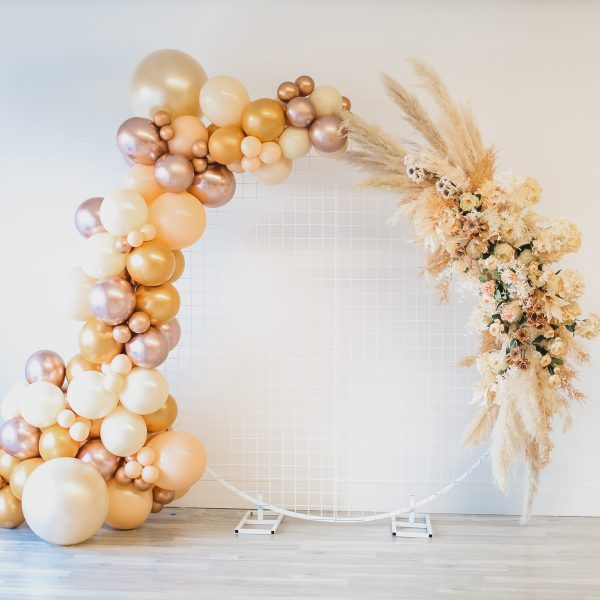 Arch with Floral & Balloon