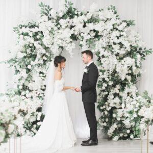 Wedding Arch Garden Style