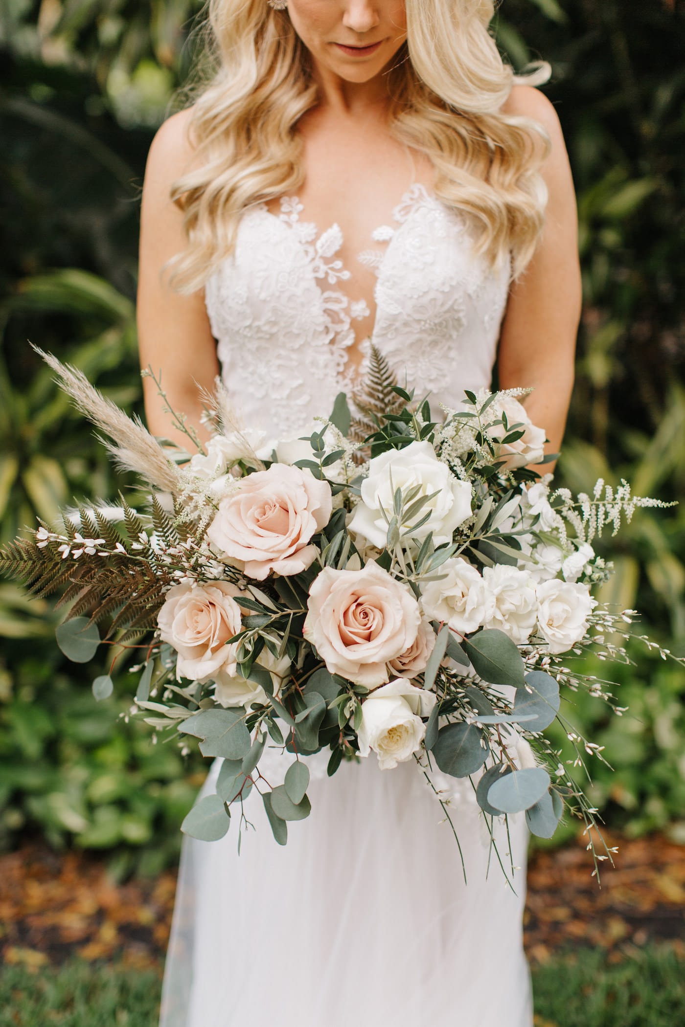 Pampas Wedding Bouquet