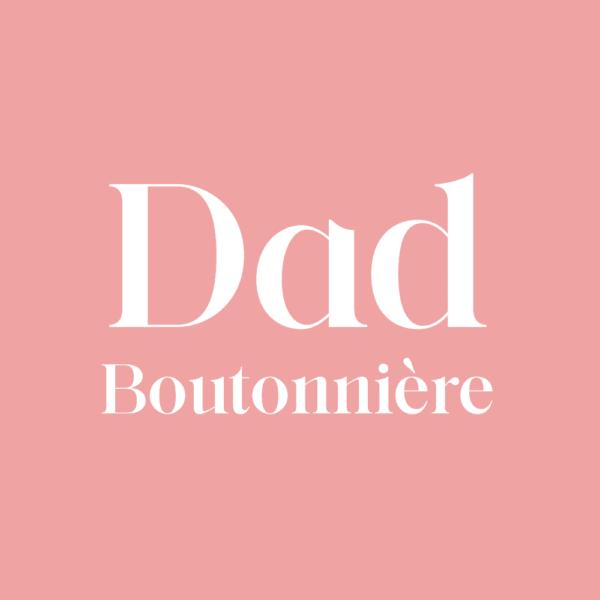 Dad Boutonnière