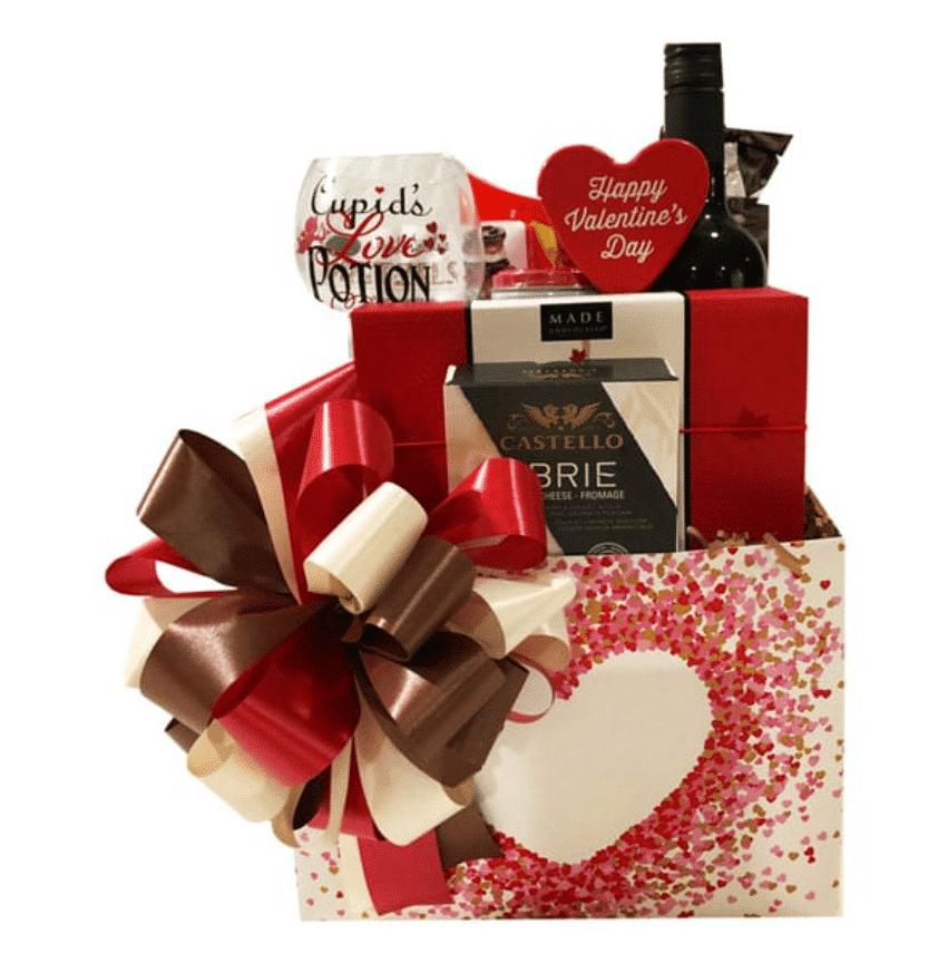 Valentine Romance Gift Basket
