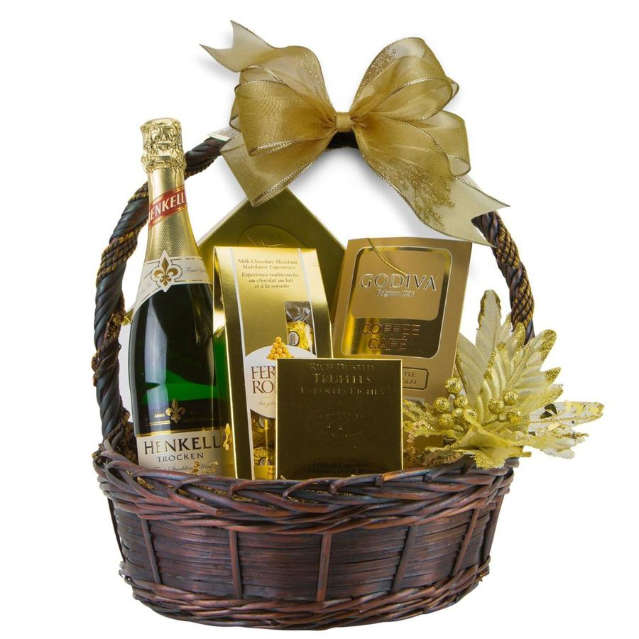 Golden Delight Gift Basket