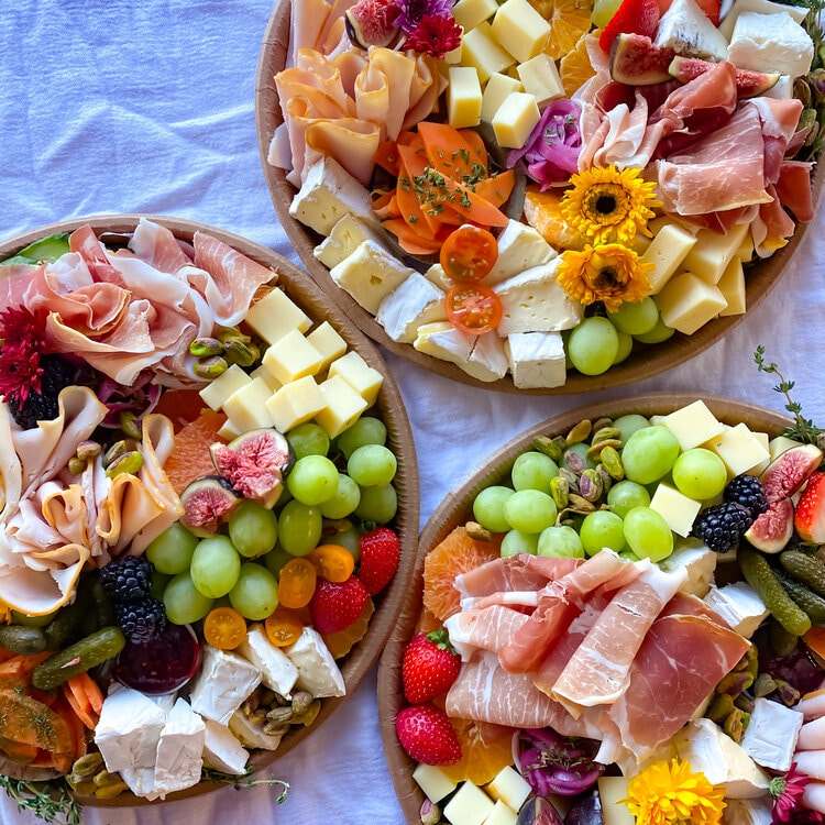 Charcuterie And Cheese Boxes