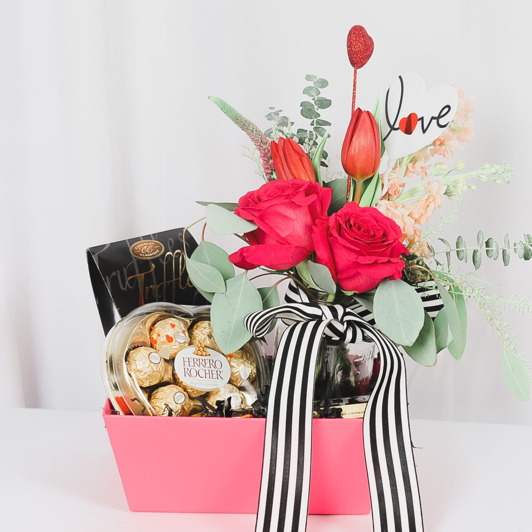 Forget Me Not Valentine Gift · Flowers & Chocolate