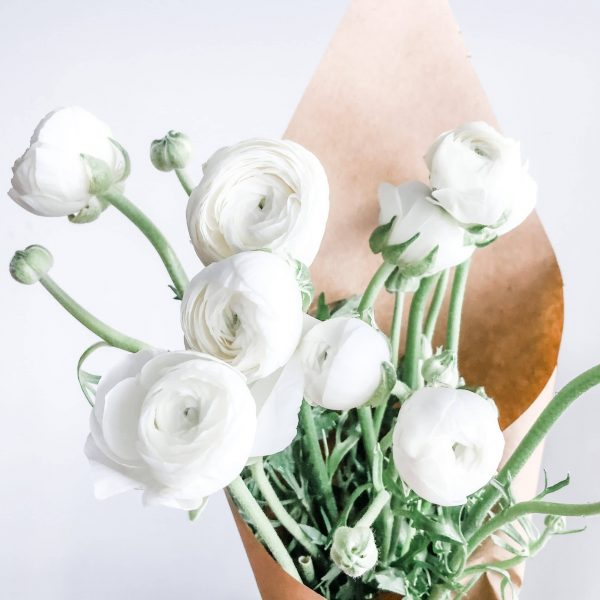 Fresh Ranunculus Flower Bouquet