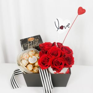 Laid Me Down Valentine Gift · Flowers & Chocolate
