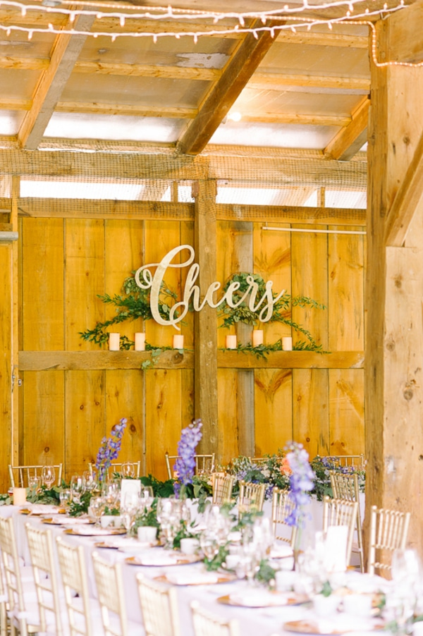 Botany Flowers Boho Barn Wedding Decor
