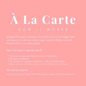 A La Carte Flowers
